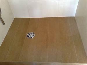 douche italienne carrelage carrelage mosaique douche metro With parquet pour douche