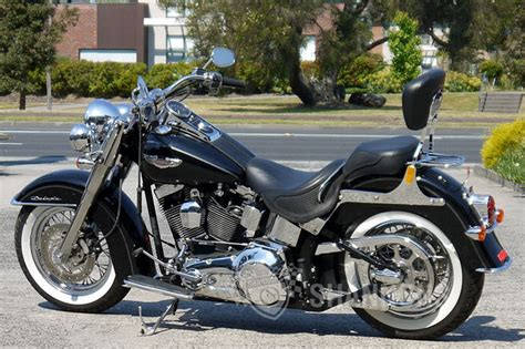 Harleydavidson Flstn Softail Deluxe Motorcycle Auctions