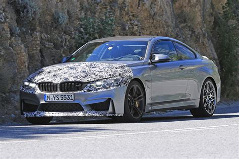2017 Bmw M4 Coupe Spied With Minor Updates Forcegtcom