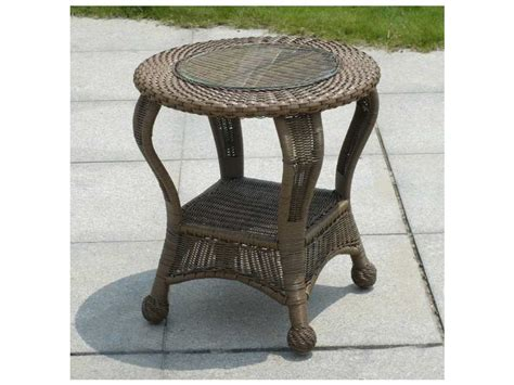 forever patio winward wicker 22 end table