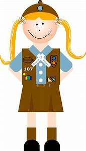 girl scout brownie clip art - Google Search | Girl Scout ...