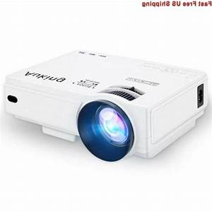 Auking Mini Projector 2400 Lumens Portable Video