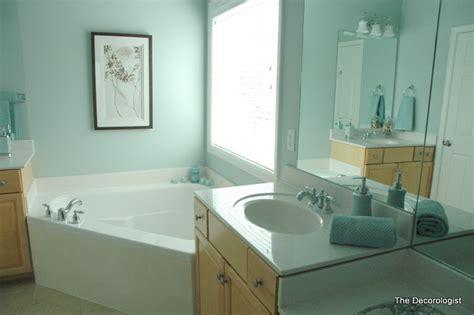 Bathroom Spa Blue Paint Color
