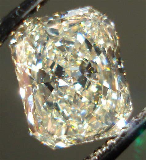yellow diamonds in the light light yellow radiant cut