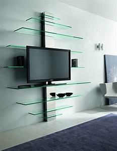 Meuble Tv Etagere : meuble tv quelques exemples qui vous regadent ~ Dode.kayakingforconservation.com Idées de Décoration