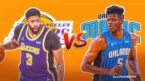 NBA odds: Lakers vs. Magic prediction, odds, pick, and more