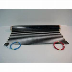 tapis chauffant electrique sud rayonnement ecofilm set 249 With film chauffant électrique parquet flottant