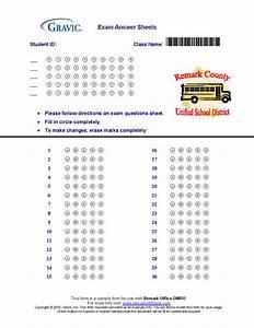 30 Question Test Answer Sheet  U00b7 Remark Software