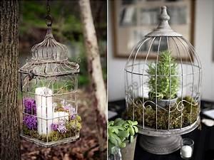 Dco De Mariage Les Cages Oiseaux La Marie En