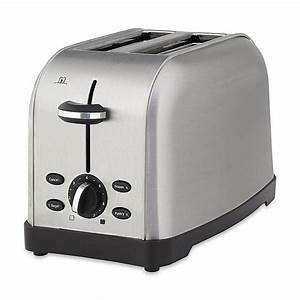 Oster - TSSTTRWF2S-001 - 2-Slice Toaster Brushed Stainless