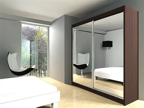 Wardrobe Hanging Mirror by New Price Wardrobe With Led Light Slidding Doors