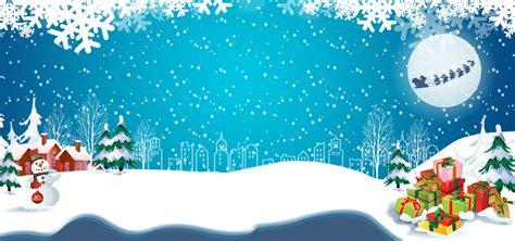 blue christmas background christmas santa claus