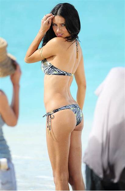 Adriana Lima Bikini Photoshoot Candids Barths During