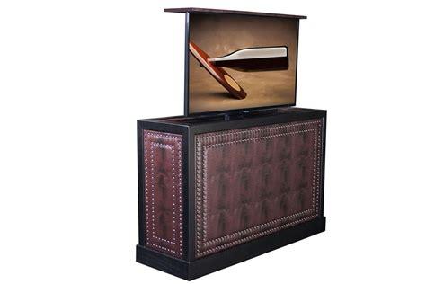 tv cabinet hidden tv lift pop up tv stand sofia custom motorized tv stand