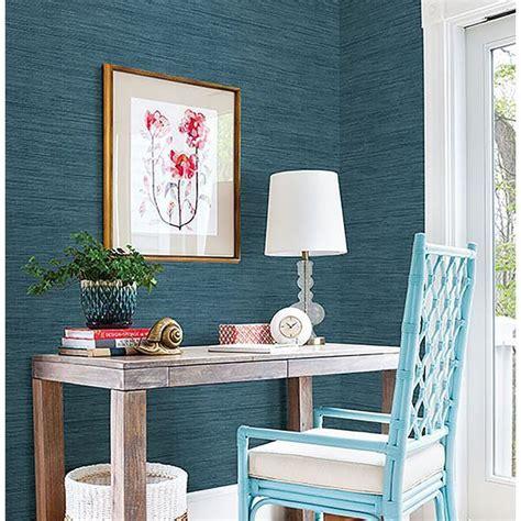fd grasscloth blue sea grass  brewster home fashions
