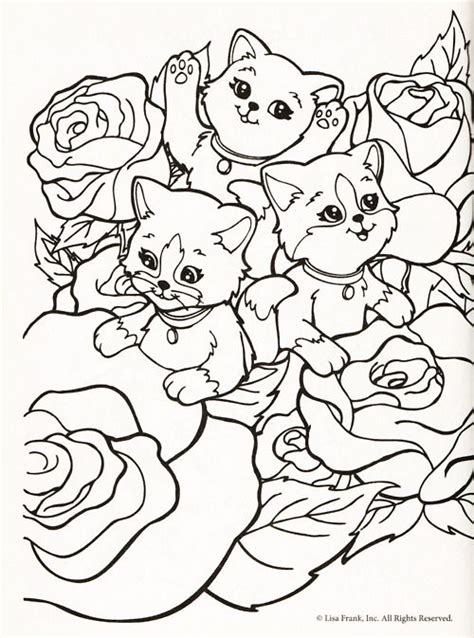 lisa frank coloring page kids birthday ideas pinterest
