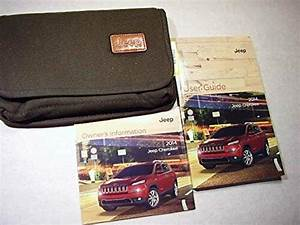 2014 Jeep Cherokee User Guide Owners Manual  Excellent