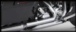 Vance And Hines Dresser Duals 16799 by Vance Hines 16799 Dresser Duals Chrome For 1995 2008