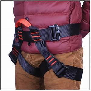 Harness Seat Belts Sitting Safety For Outdoor Rock