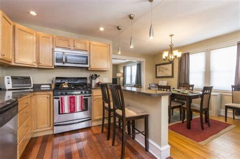 exemple de cuisine ouverte comment meubler votre cuisine semi ouverte archzine fr