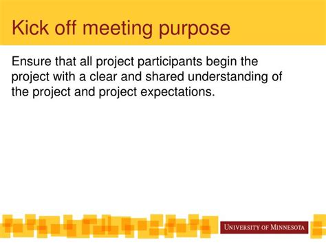 template kick  project meeting powerpoint