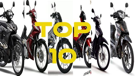 Top 10 Underbone Motorcycle In The Philippines