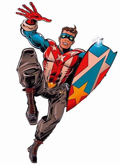 Superheroes Shieldmaster Crusaders Comics Mighty Comix Memorial