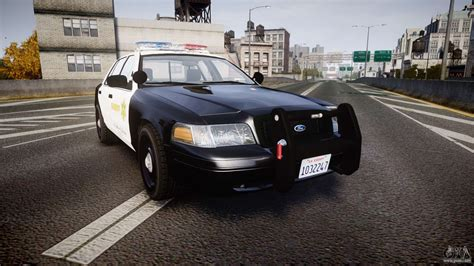 ford crown victoria  lasd els  gta