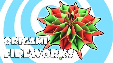 Modular Origami Fireworks Instructions Yami Yamauchi