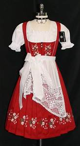 Size Chart Dirndl Accessories German Dresses Worn During Octoberfest
