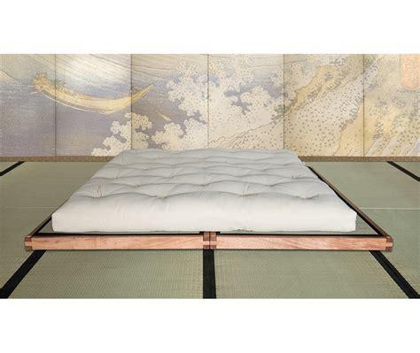 pedana letto letto bio wood pedana con tatami vivere zen