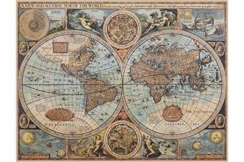 toile carte du monde carte du monde ancienne sur toile 1626 antica objets et cartes anciennes
