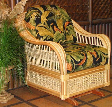 indoor wicker chairs ottomans rockers