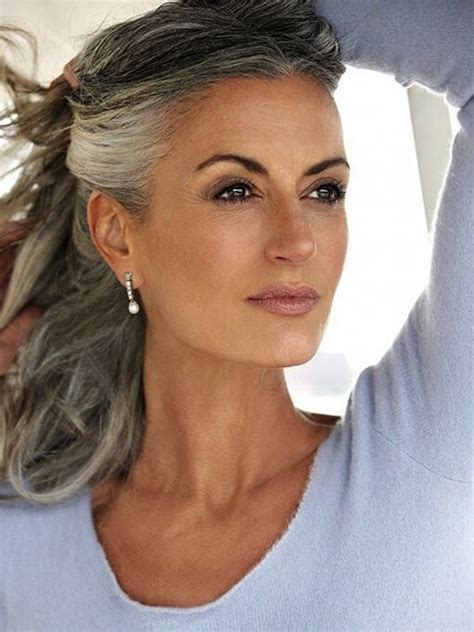 Hairstyles For With Gray Hair 21 impressive gray hairstyles for feed inspiration