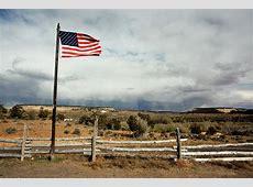 American Flag Landscape Photograph by Michelle McCarron