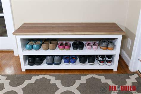 Diy Entryway Shoe Storage Bench