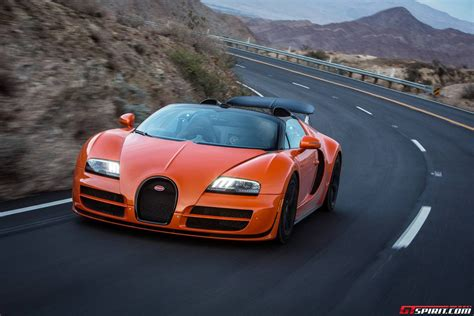 Bugatti Dynamic Drive Experience In Palm Springs Route 74