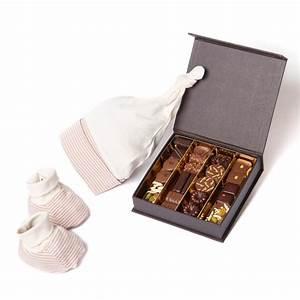 Idée Cadeau De Naissance : coffret cadeau de naissance cadeau autour du chocolat d ~ Melissatoandfro.com Idées de Décoration