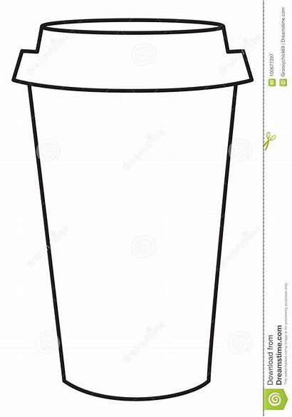 Cup Coffee Drawing Line Clipartmag