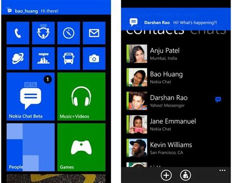 nokia chat aplikasi messenger gratis untuk lumia