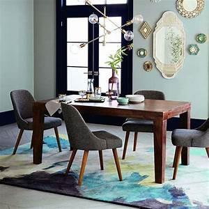 table salle a manger design rustique en 42 idees originales With salle a manger rustique moderne