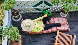 Amenager Petit Balcon Appartement : comment am nager un petit balcon nos 5 astuces d co ~ Zukunftsfamilie.com Idées de Décoration
