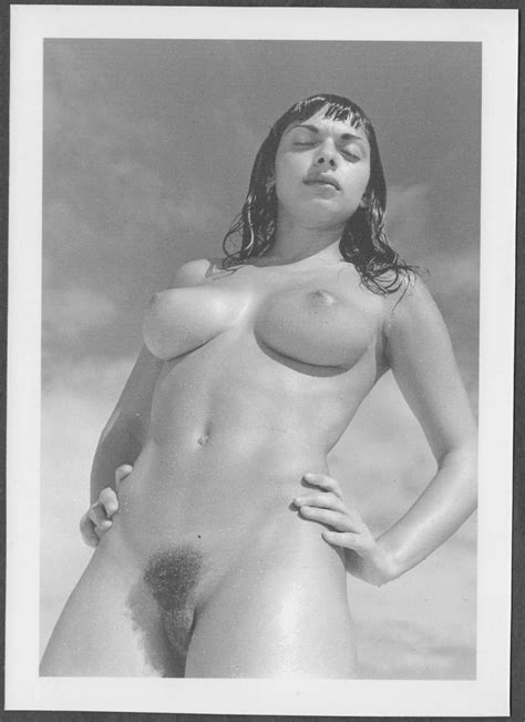 Shirley Leavitt Totally Nude Breasts Hairy Pussy New Reprint X