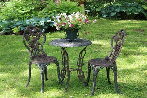 Cast Iron Garden Furniture Became Popular After 1860