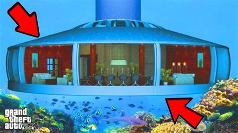 maison sous l eau acc 201 der une maison cach 201 e sous l eau bug gta 5