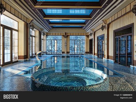 luxury house plans with pools interior design home indoor pool image photo bigstock