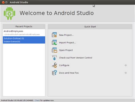 getting started with android studio getting started with android studio from an eclipse adt