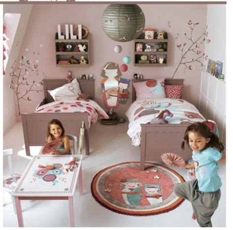 chambre vertbaudet 2 chambres rooooooses pour 4 princesses