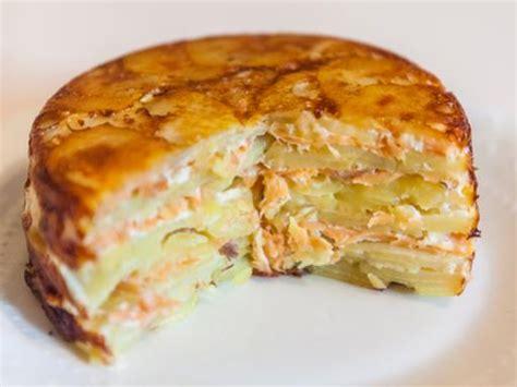 plat cuisiné facile recette gratin dauphinois aux 2 saumons notre recette