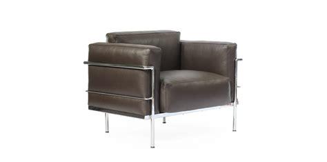 meubles et canap駸 fauteuil le corbusier lc4 lc4 chaise longue inspir e le corbusier cuir achat vente